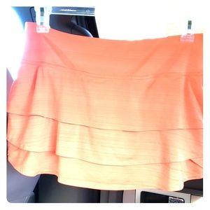 Athleta athletic skort skirt Orange Sz L